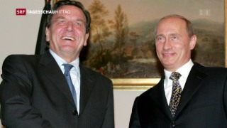Video «Gerhard Schröder könnte Aufsichtsratschef von Rosneft werden» abspielen