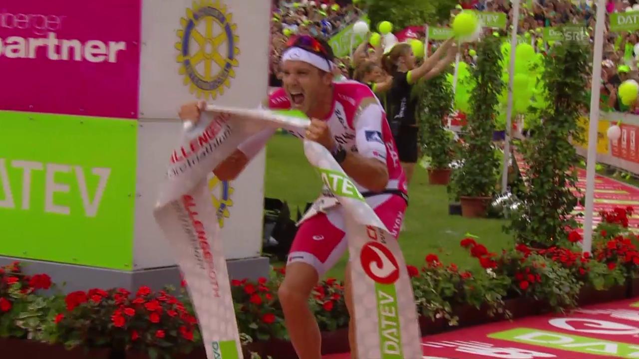 Blumen und Bier für Rekordmann Frodeno