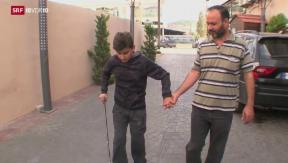 Video «Drama mit Happy-End: Das Leben hat Bashar wieder» abspielen