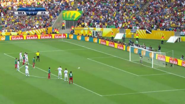 Video «Fussball: Highlights Italien - Mexiko («sportlive»)» abspielen