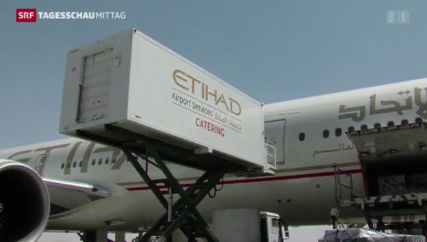 Video «Etihad beteiligt sich mit 49 Prozent an Alitalia» abspielen