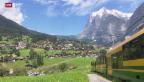Video «Bahnprojekt spaltet Grindelwald» abspielen