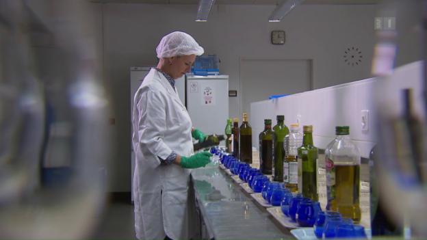 Video «Olivenöl im Test: Der grosse Schwindel mit «Extra Vergine»» abspielen