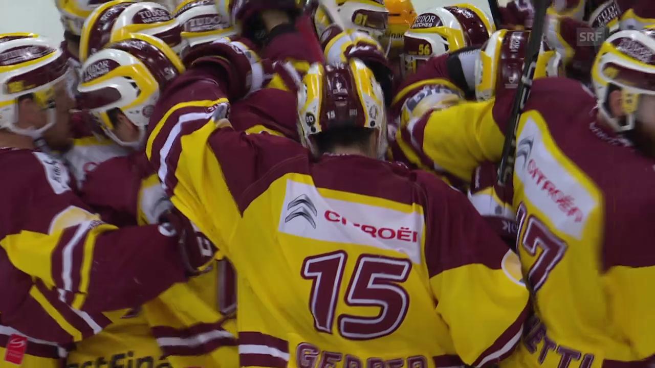 Eishockey: NLA, Playoff Halbfinal, 3. Runde, Overtime-Tor Picard