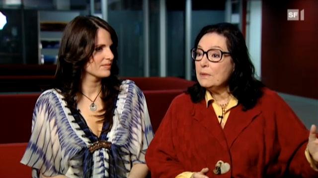 Nana Mouskouri verzaubert die Schweiz