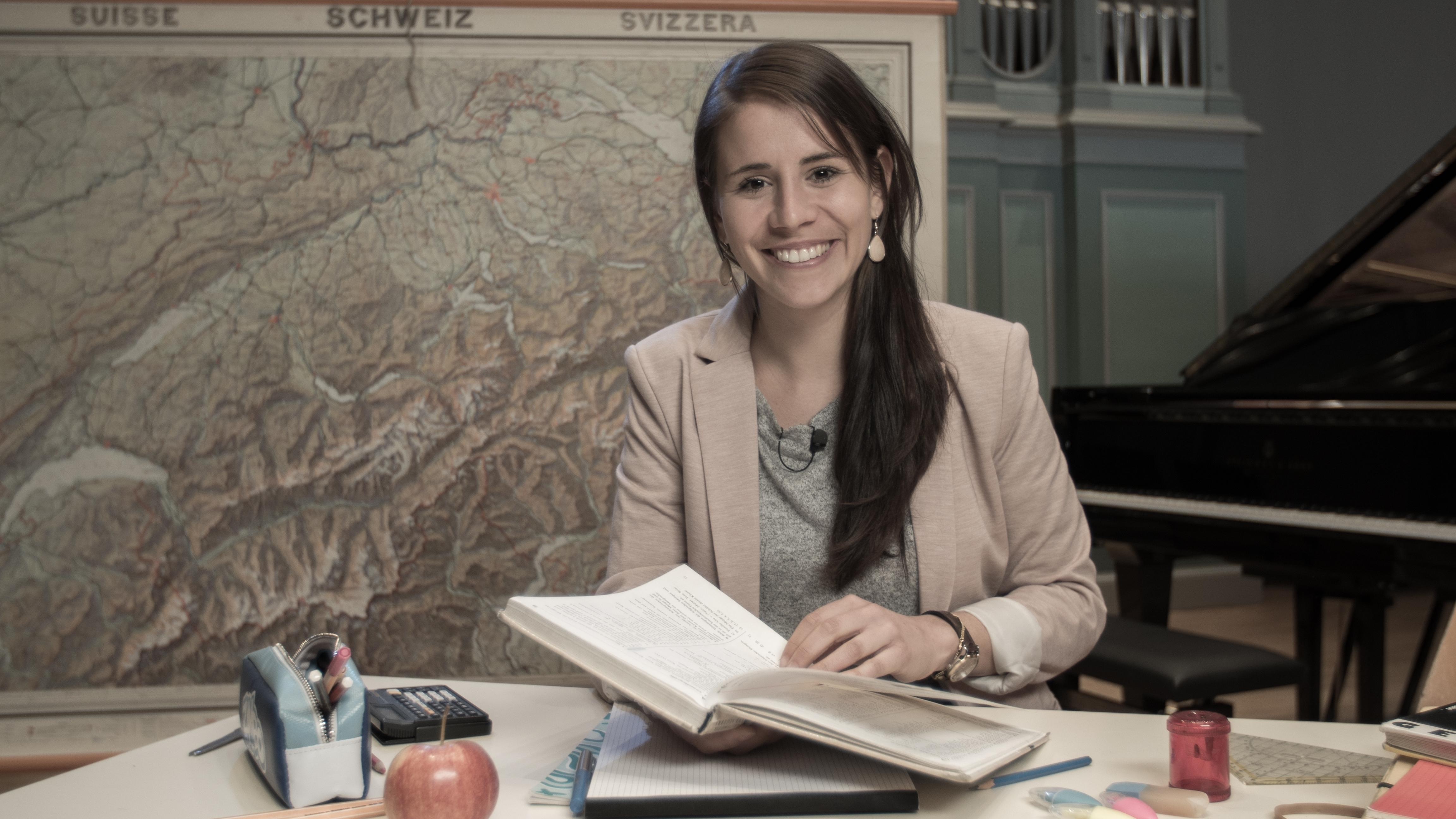 Eliane Müller jongliert mit Zahlen