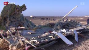 Video «Grossbritannen stoppt alle Flüge aus Sharm al-Sheikh » abspielen