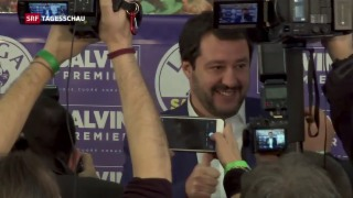 Video «Ungewisse Regierungsbildung in Italien» abspielen