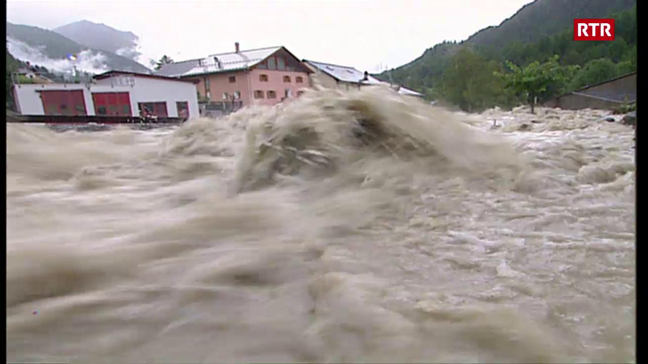 Inundaziuns a Susch 2005
