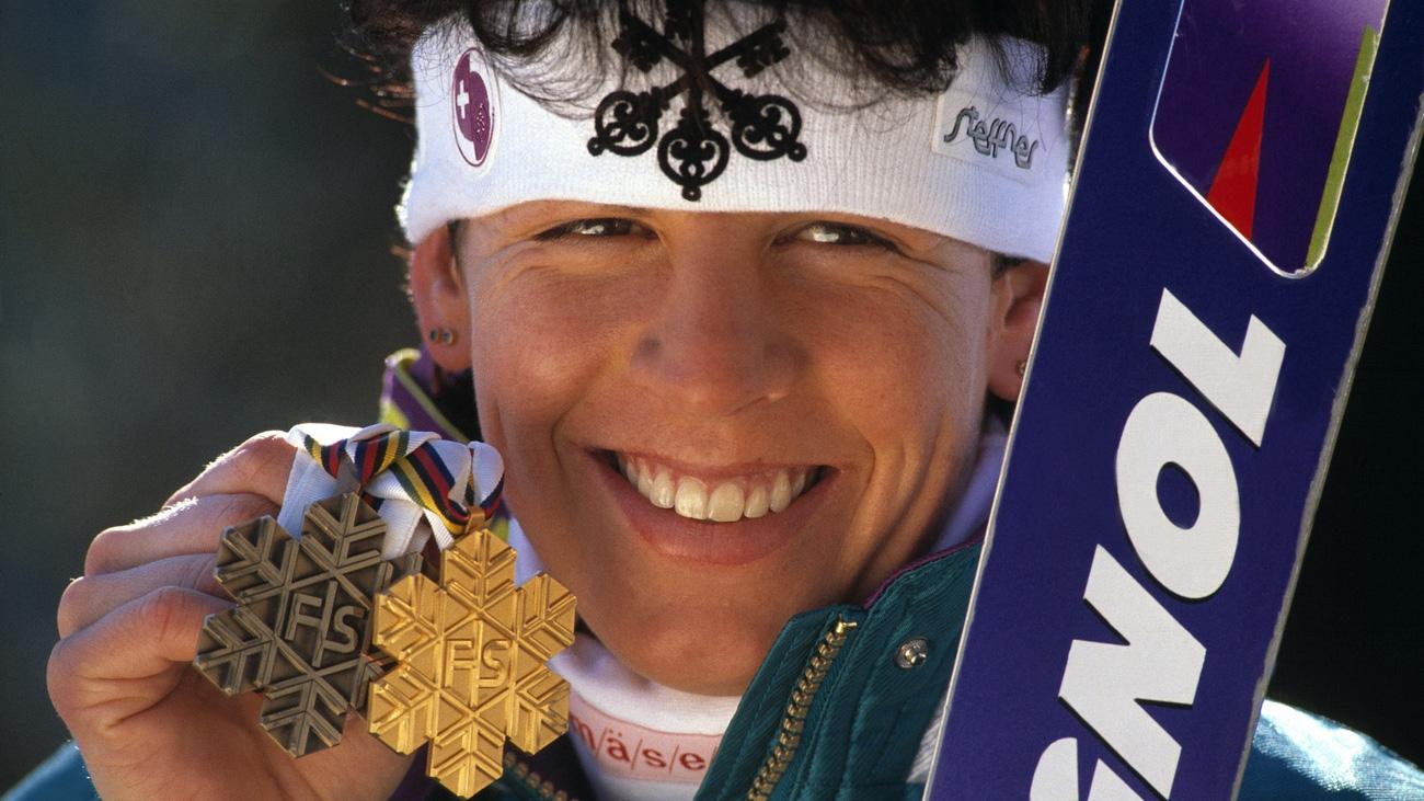 Vreni Schneider blickt auf Slalom-Gold 1991 zurück
