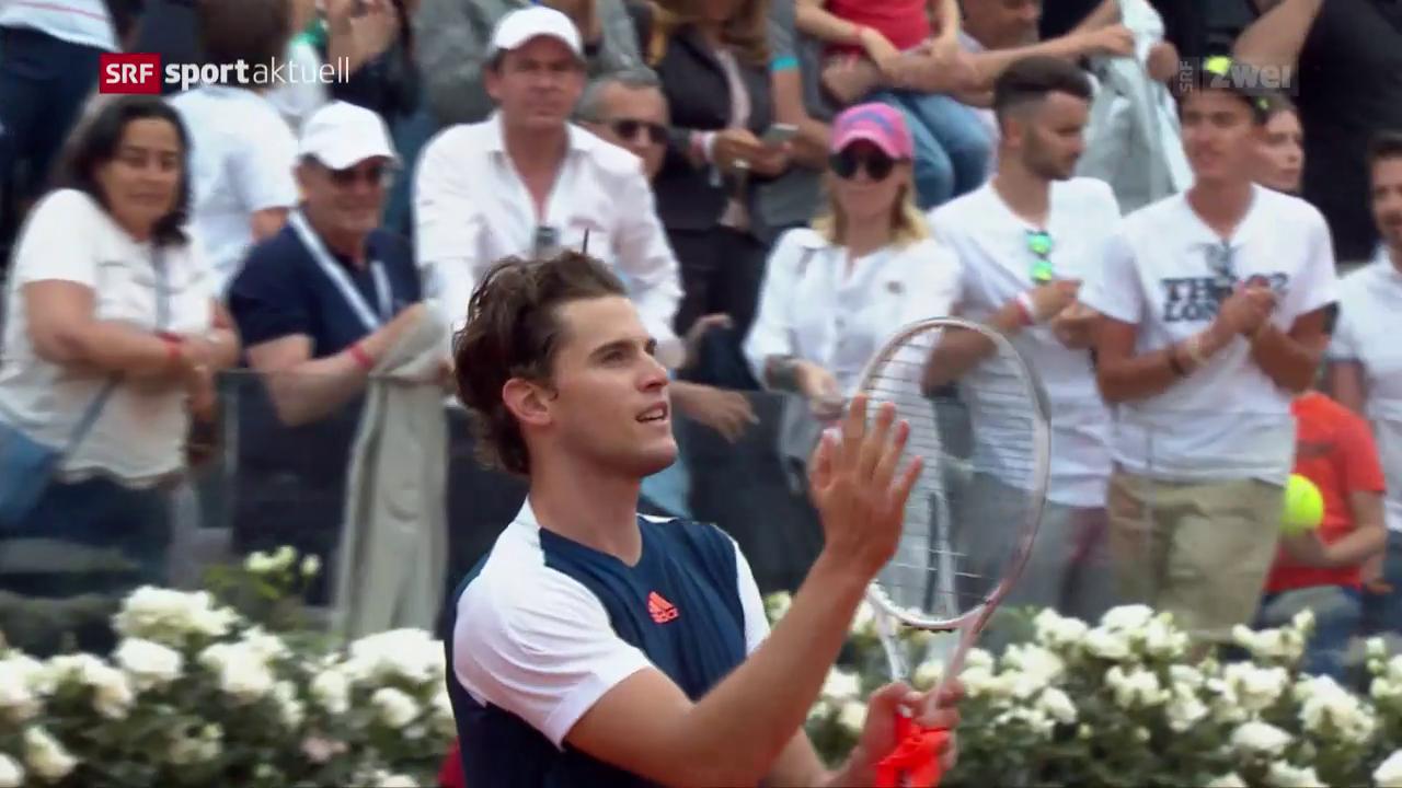 Thiem gelingt Revanche gegen Nadal