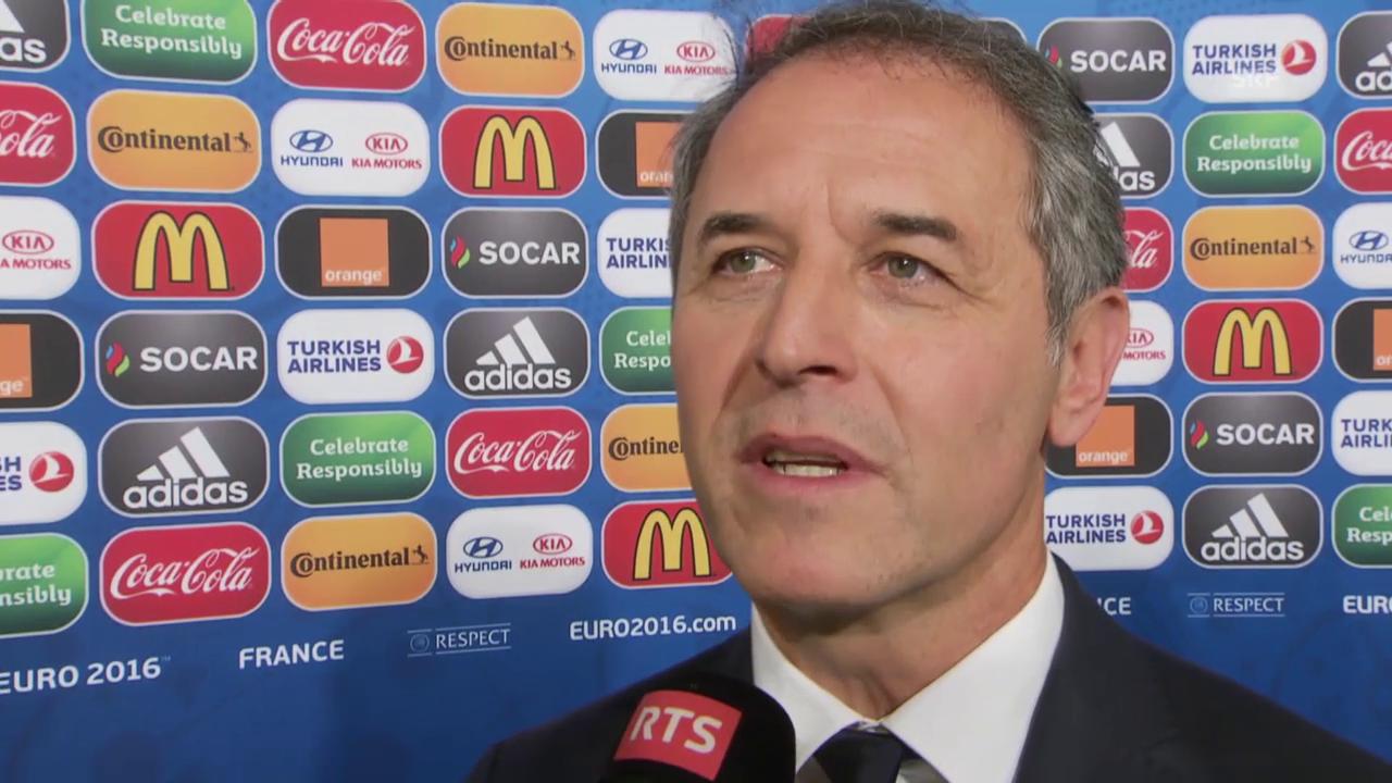 Fussball: EURO 2016, Auslosung, Interview Marcel Koller