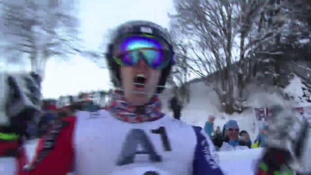 Video «Der 2. Lauf von Dave Ryding» abspielen