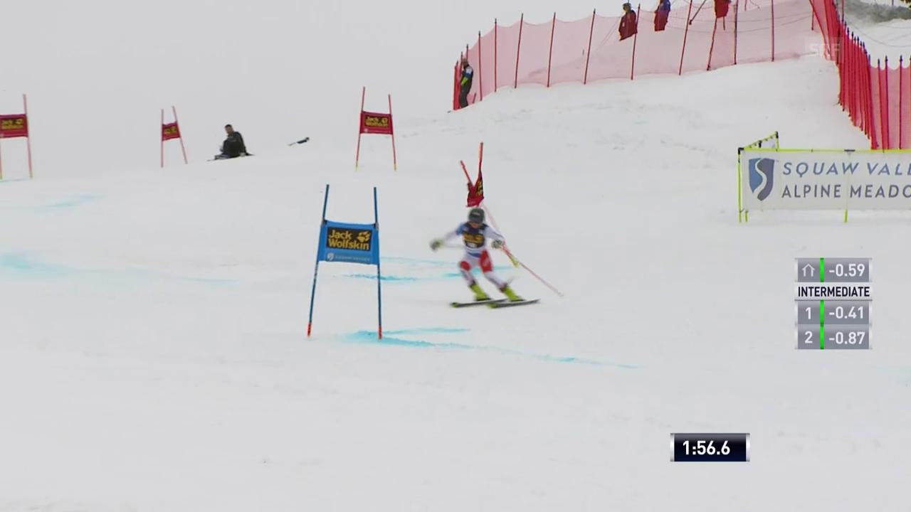 Der 2. Lauf von Simone Wild