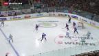 Video «Spengler-Cup: Ufa gewinnt gegen Jokerit» abspielen