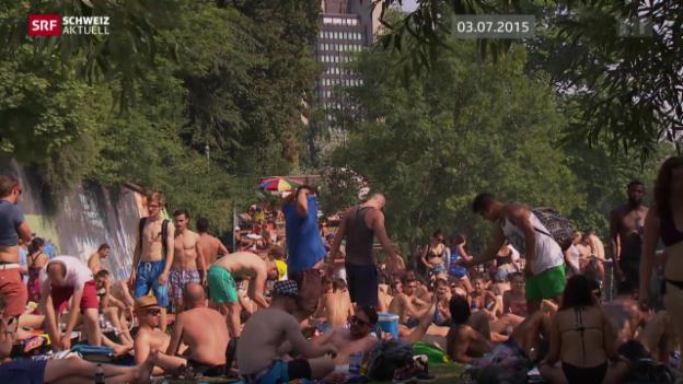 Video «Hitze fordert Badeopfer» abspielen