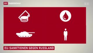 Video «EU-Sanktionen treffen Russland» abspielen