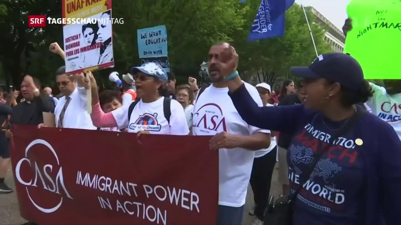 Trump plant restriktiveres Einwanderungsgesetz