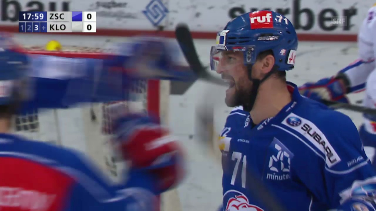Eishockey: Bärschis Tor gegen Kloten