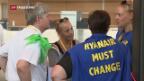 Video «Pilotenstreik trifft Ryanair» abspielen