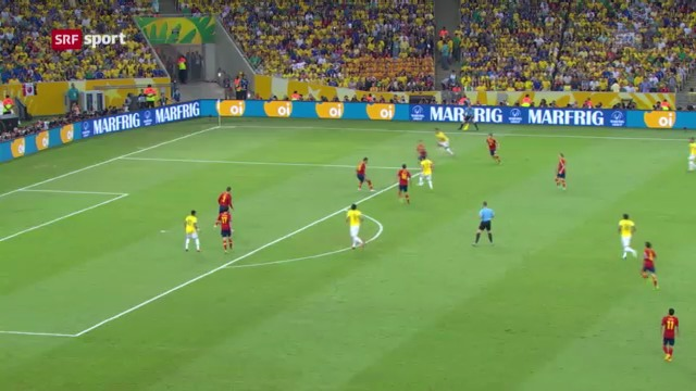 Brasilien gewinnt Confed Cup («sportaktuell»)