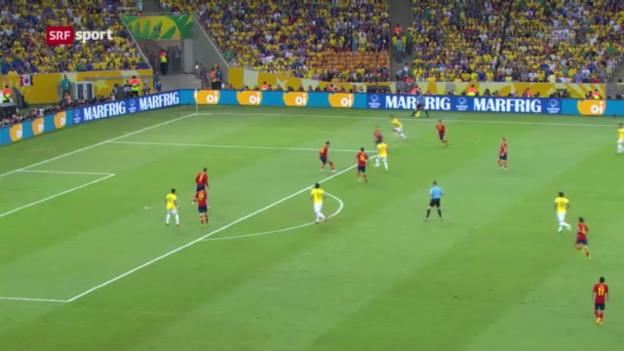 Video «Brasilien gewinnt Confed Cup («sportaktuell»)» abspielen
