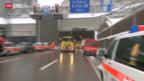 Video «Massenkarambolage im Rosenbergtunnel» abspielen