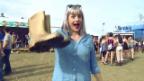 Video «Tina Nägeli: Mit dem Goldenen Gummistiefel am Openair Lumnezia» abspielen