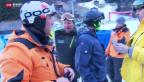 Video «Hektische Vorbereitungen am Lauberhorn» abspielen