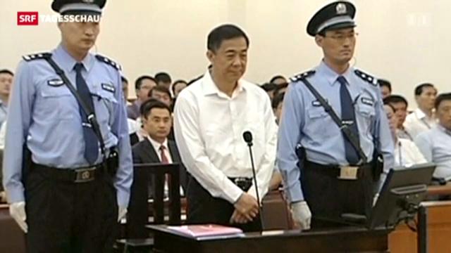Prozess gegen gefallenen Polit-Star in China
