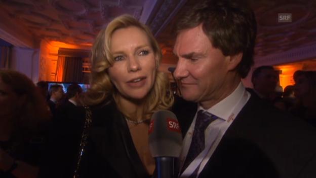 Video «Veronica Ferres und Carsten Maschmeyer über ihre Hochzeit» abspielen