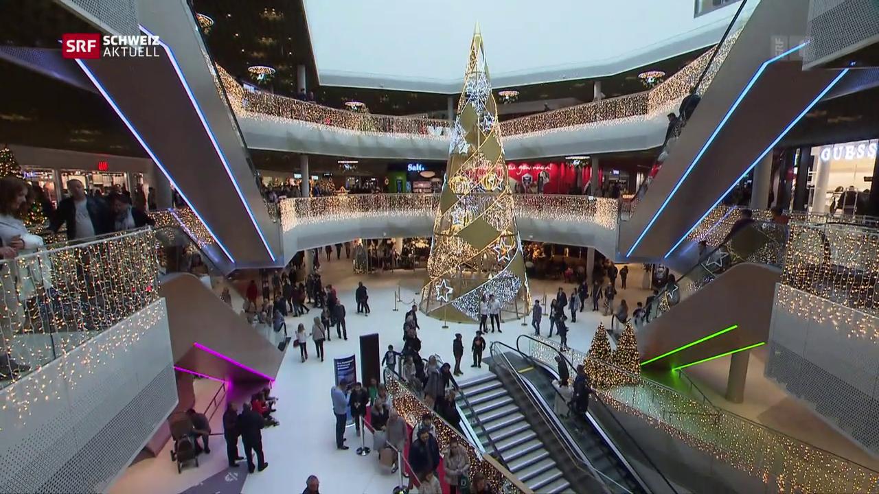 Mall of Switzerland sorgt für Verkehrschaos