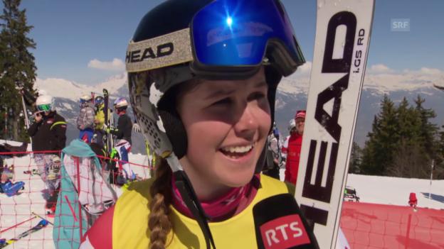 Video «Ski: Danioth über ihren Karriere-Traum» abspielen