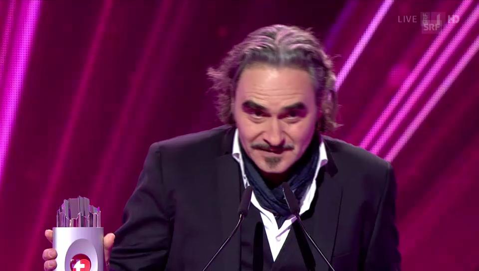 «SwissAward», Gewinner Show: Stephan Eicher
