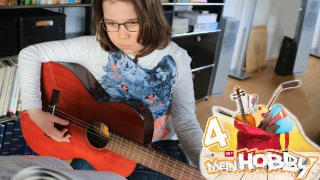 Video «Iain und seine grosse Leidenschaft zur Gitarre» abspielen