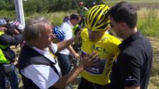 Video «Tour de France: 3. Etappe, Massensturz» abspielen