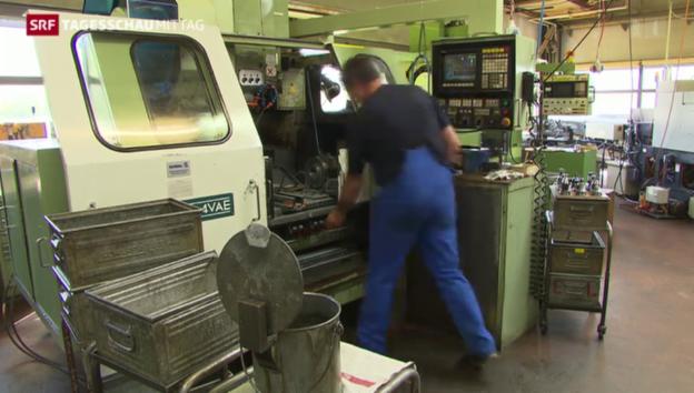 Video «Schweizer Arbeitsmarkt robust» abspielen