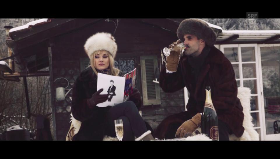 Chic im Schnee: Wettkampf