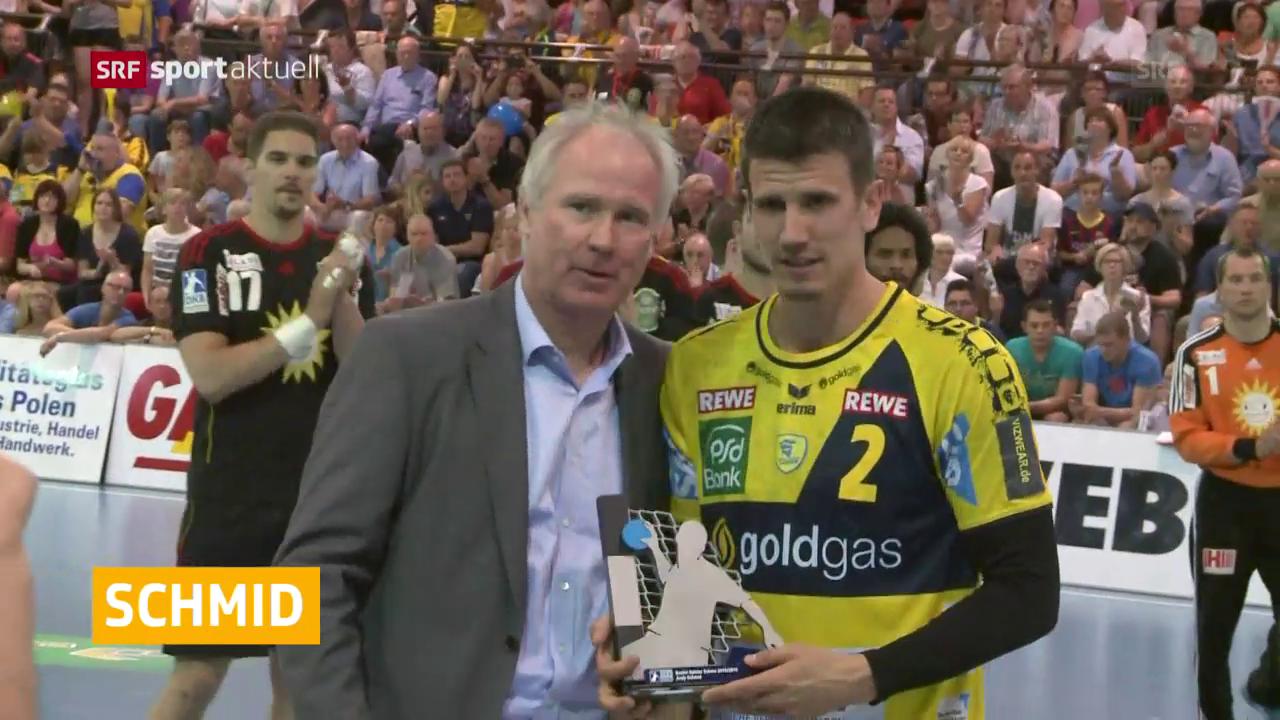 Schmid wieder MVP