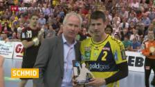 Video «Schmid wieder MVP» abspielen