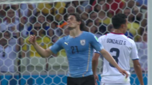 Video «Spielbericht Uruguay - Costa Rica» abspielen