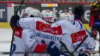Video «ZSC Lions gewinnen Spitzenkampf in Bern» abspielen