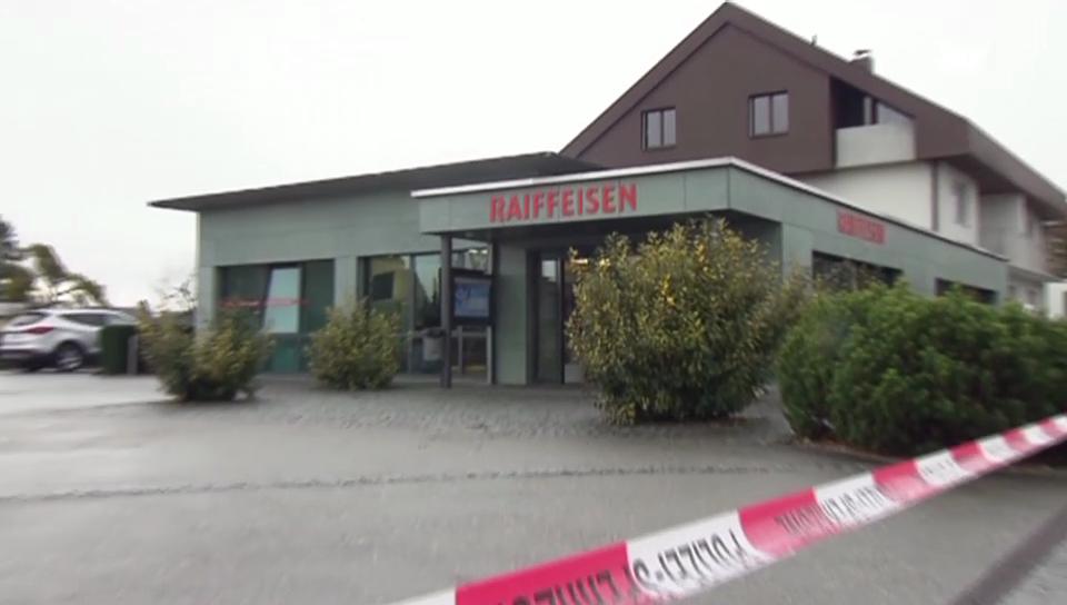 Banküberfall in Recherswil