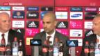 Video «Medienauflauf um Guardiola bei Bayern» abspielen