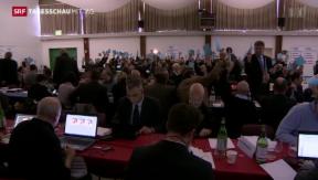 Video «Delegiertenversammlung der FDP in Lugano» abspielen