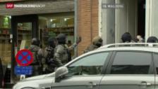 Video «Belgien: Suche nach Terror-Verdächtigen» abspielen