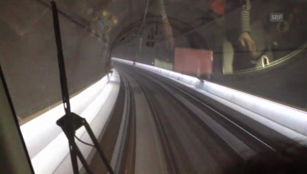 Video «Fahrt durch die Zürcher Durchmesserlinie» abspielen
