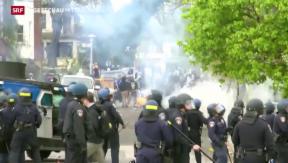 Video «Baltimore im Ausnahmezustand» abspielen