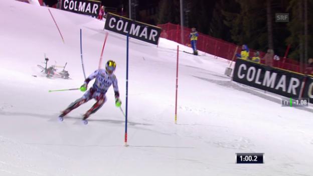 Video «Ski: Reaktionen auf den Drohnen-Zwischenfall in Madonna di Campiglio» abspielen