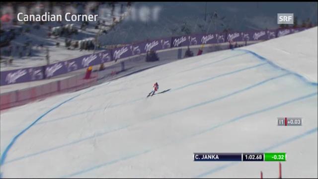 Ski: Lauberhornabfahrt, «Canadian Corner»